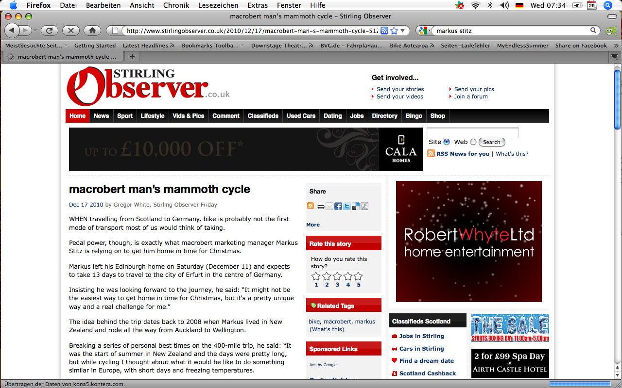 The Stirling Observer Online 17/12/10