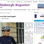 Article Edinburgh Reporter Blog 14/05/2011