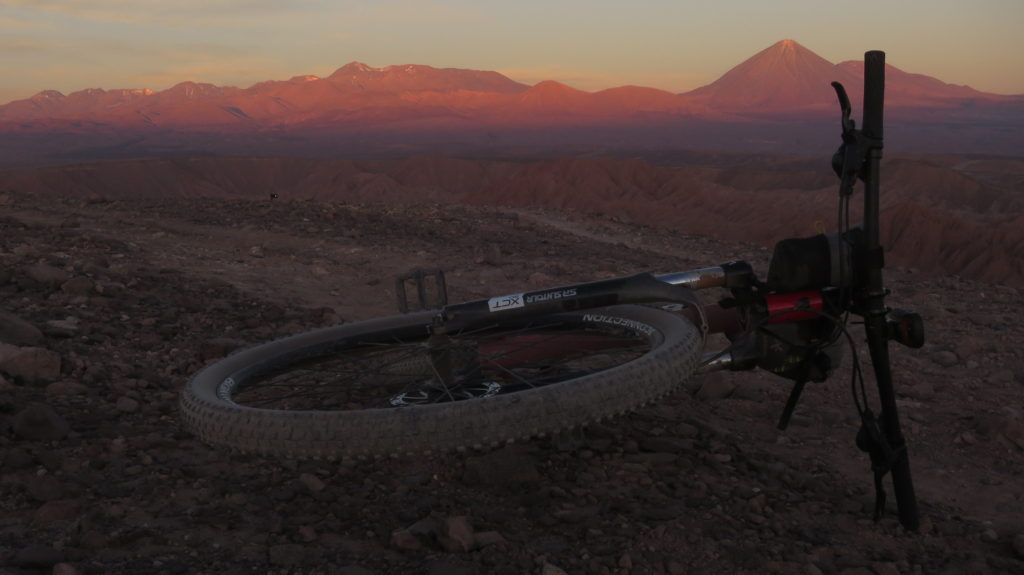 Cycling in the Atacama